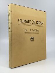 T. Okada / THE CLIMATE OF JAPAN First Edition 1931