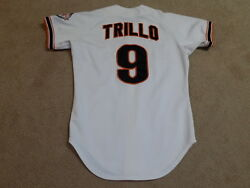 Manny Trillo Game Worn Jersey 1984 San Francisco Giants Cubs Phillies A's