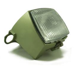 Nos Early 70's Peugeot 102 Moped Headlight Assembly - Olive Green