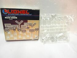 Lionel 6-62180 Box Of 14 O And O27 Road Signs For Toy Train Layout-new In Boxlook