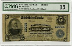 1926 Bank Of Yorkville Ny 12965 Pmg 15 5 Dollar Only 17 Other Notes Known