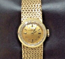 Vintage Eterna-matic Golden Heart Ladies Automatic Watch 31g 18k Solid Gold