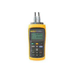 Fluke Calibration 1524-156 Dual Channel Handheld Reference Thermometer