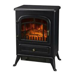 Homcom 16 Free Standing Electric Fireplace Portable Adjustable Heater...