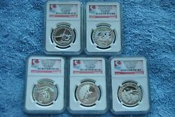 Canada 2015 10 Adventure Canada 5 Coin Set Pf70 All Early Releases