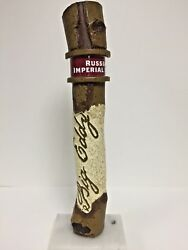 Big Eddy Russian Imperial Stout Tap Handle Leinenkugeland039s New In Box And F/s 11