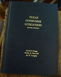 Lieck's Legal Trial Aid For Texas Attorneys And Judges 1959 Second Revision