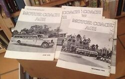 Motor Coach Age 1979 Full Year 12 Issues Bus History Us Travel Free Us Shipping