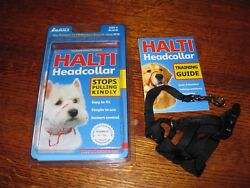 HALTI Headcollar for Large Dogs; Size 0 Color - Black