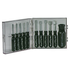 Xcelite Ps121mm 11-piece Metric Compact Nut Driver Set With Handle