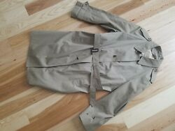 Crownwear Of Boston Vintage Trench Coat Clarendon Cloth With Liner 46L