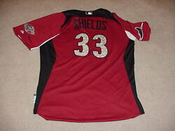 James Shields 2011 All Star Game Signed Jersey Mlb Tampa Bay Rays