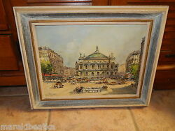 Paris Place De Land039opere Authentic French Impressionism By Charles Blondin