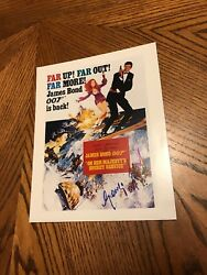 George Lazenby Signed On Her Majestyandrsquos Secret Service Mini Movieposter 8x10 Coa