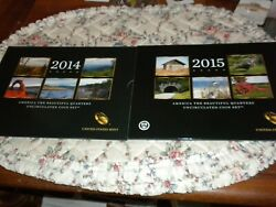 2010-2020 America The Beautiful Uncirculated Pandd 11 Total Sets