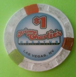 Arizona Charlieand039s Casino Las Vegas Nevada 1.00 Chip Great For Any Collection