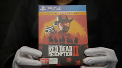 Red Dead Redemption Ii Ultimate Edition Ps4 Game Boxed - 'the Masked Man'