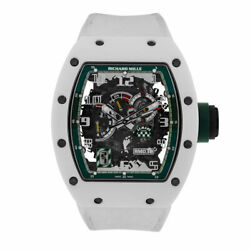 Richard Mille RM030 Le Mans White ATZ Ceramic Mens 50MM Watch RM030