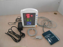 Hot Cms5100 Vital Signs Icu Patient Monitor Nibp Spo2 Pulse Rate Adult Ce New