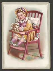 Victorian Trade Card - C.d. Kenny Co. Coffee - Late 1800and039s Richmond Va