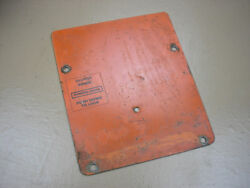 Case Ingersoll 224 Tractor Mower Dash Tower Cover Plate