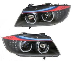 Bmw E90 3-series M3 Design Headlights Set