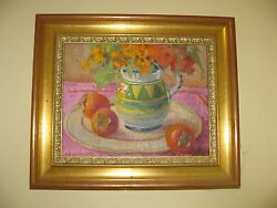 EXCEPTIONAL MEREDITH BROOKS ABBOTT Signed Original Oil - LOVELY
