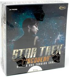 STAR TREK DISCOVERY SEASON 1 TRADING CARDS 12 BOX CASE BLOWOUT CARDS