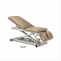 Power Height Treatment Exam Table With Adjustable Backrest And Drop Section -...