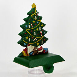 Midwest Of Cannon Falls Candy Cane Christmas Tree 5.5 Stocking Hanger Cast Iron