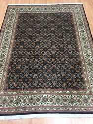 5and039 X 6and0396 New Turkish Oriental Rug - Fine - Wool And Silk Pile - Hand Made