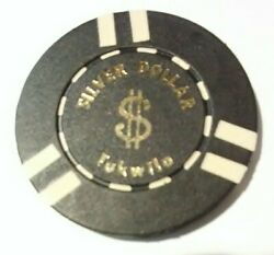 Silver Dollar Casino Tukwilo Washington 20.00 Chip Great For Any Collection