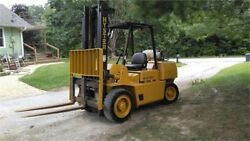 Hyster H80XL 8000# Side Shift Clean unit ready to put to work. Can ship