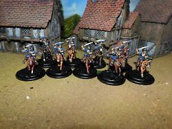ECW SCOTT HEAVY CAVALRY PRO PAINTED BY EYE 28MM FOUNDRY MINIATURES