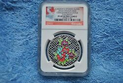 2014 Canada Ngc 20 Stained Glass Craigdarroch Castle Pf69 Ultra Cameo