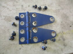 Jeep Wrangler Yj Used Hood Hinges Blue 87-95 W Bolts
