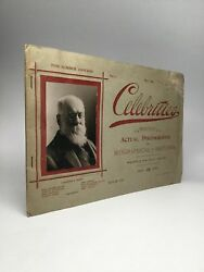 Celebrities Monthly Actual Photographs With Biographical Sketches Vol I May 1895