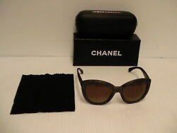 Authentic Chanel New Sunglasses 5332 714s9 woman's polarized brown lenses
