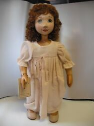 Xenis Musical Wooden Doll - Wendy  from Peter Pan - LE #48 of 125