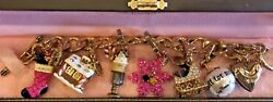 Juicy Couture Christmas Charm Bracelet With 6 Retired And Removable Charms