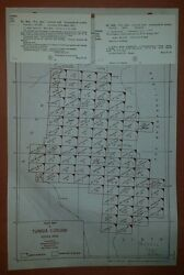 1940and039s Army Maps Tunisia Gsgs 4226 1100000 88 Sheets Ww 2 Vintage Military