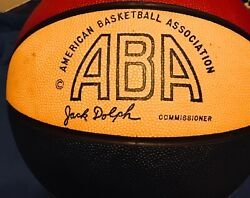 Julius Erving Dr J Ultimate ABA Real autographed PSA Rawlings RSS Ball