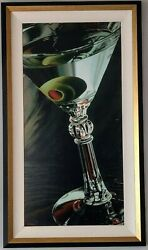 Thomas Arvid - Classic Martini FRAMED Limited Edition Giclee on Canvas  211275
