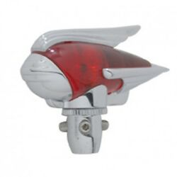 Antenna Topper Red 1930and039s-1940and039s Cool Bomber Stylerat Rodhot Rodlead Sled