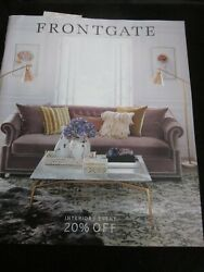 Frontgate Catalog Look Book August 2018 Interiors Event Brand New