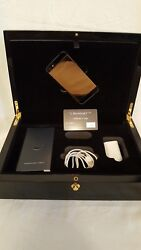 Limited Edition 24 Carat Gold Iphone 5 By Mansory Golden Dreams Box Limitiert