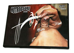 Learn How To Pinstripe Movie Hot Rod Surf Vol. 2 Diy Freehand Art Motorcycle Dvd