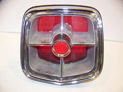1963 Plymouth Station Wagon Taillight Savoy Belvedere 2422696 Complete Oem