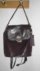 Dolce Vita Lucy Nappa Leather Backpack convertible design