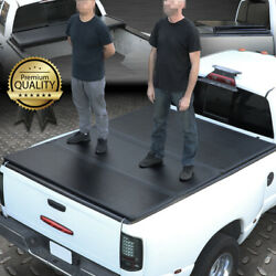 For 04-15 Nissan Titan 5.7 Ft Short Bed Frp Hard Solid Tri-fold Tonneau Cover